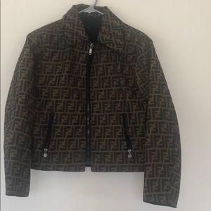 Fendi Monogram Reversible Jacket
